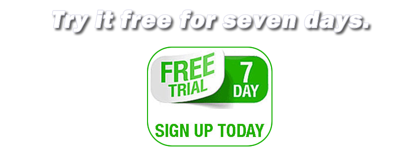 7 Day Free Trial graphic
